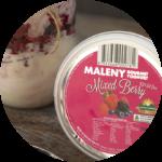 mixed berry yoghurt