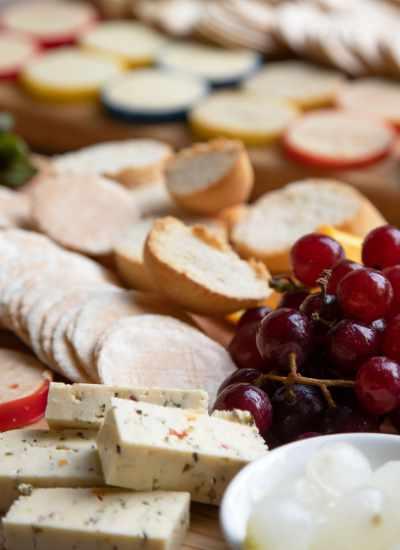 cheese range platter